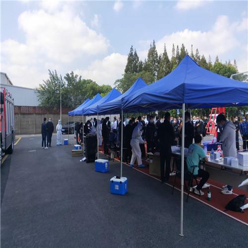 上海保安培训基地  帐篷千亿体育下载+桌椅千亿体育下载现场