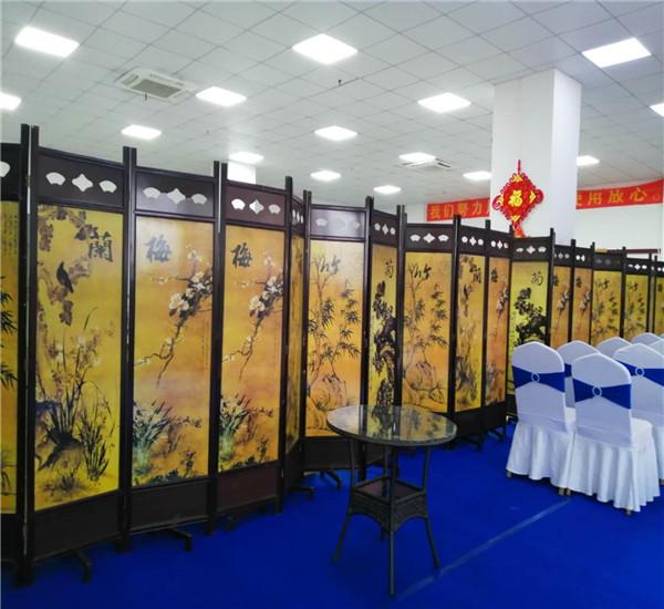 深圳 高盛科技园 古典屏风 洽谈桌椅千亿体育下载