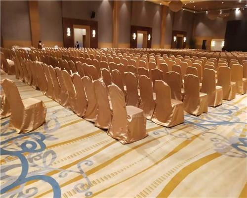 南京仙林新地酒店摆放完毕