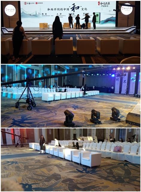 北京嘉里中心 桌椅沙发摆放完成