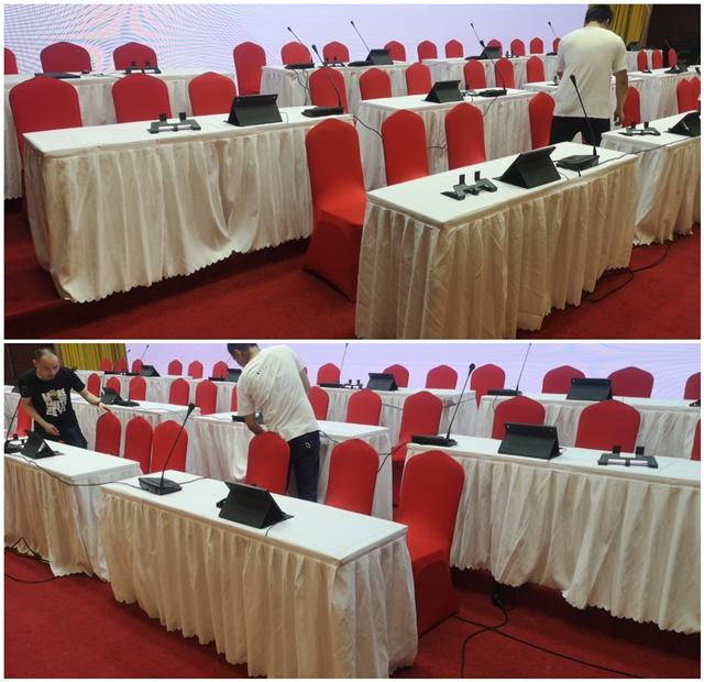 杭州上城区行政服务部送货完成:折叠桌 宴会椅千亿体育下载
