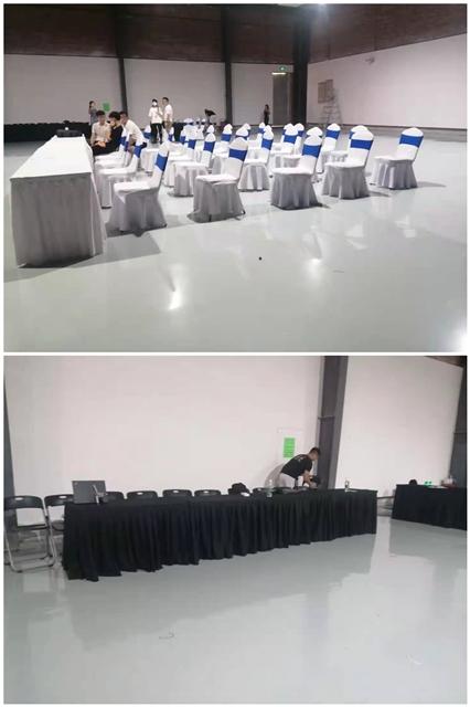 深圳南山华侨城创意园:桌椅千亿体育下载摆放已完成